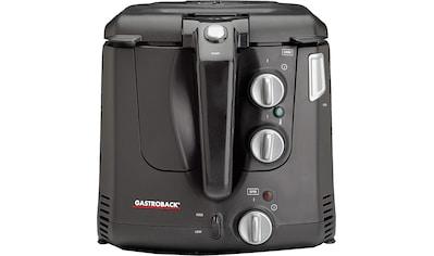 Gastroback Fritteuse Vita - Spin 42580, 2000 Watt, Fassungsvermögen 2,5 Liter kaufen