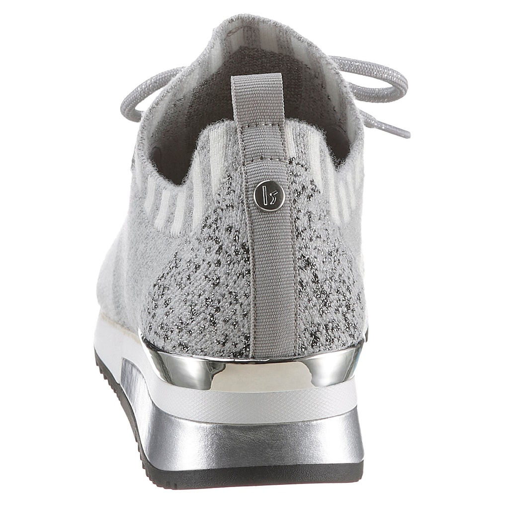 La Strada Slip-On Sneaker, mit Metallic-Applikation am Absatz