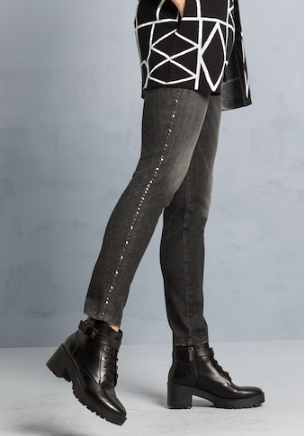bianca 5-Pocket-Jeans »SHAPE«, im trendigen Used-Look mit Nieten an der Seite kaufen