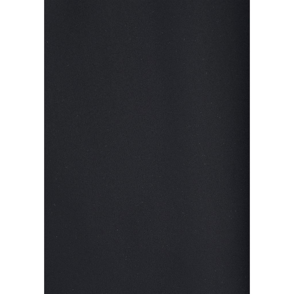 s.Oliver Beachwear Bügel-Tankini, mit Häkelkante