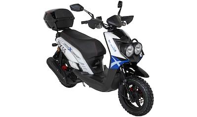 GT UNION Motorroller »PX 55 Cross - Concept«, 50 ccm, 45 km/h, inkl. Topcase kaufen