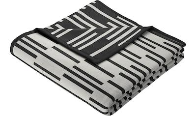 BIEDERLACK Wohndecke »Minimal«, in tollem grafischen Design kaufen