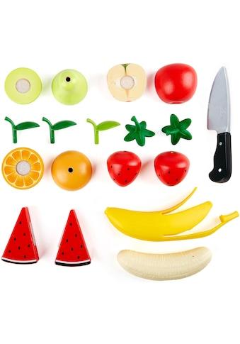 Hape Spiellebensmittel »Obst-Set«, aus Holz; für Kaufladen oder Kinderküche kaufen