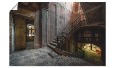 Artland Wandbild »Lost Place  -  Treppe  -  verlassene Orte« kaufen