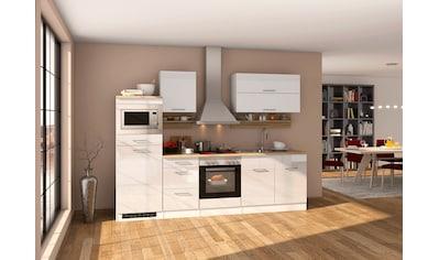 HELD MÖBEL Küchenzeile »Mailand«, mit Elektrogeräten, Breite 270 cm kaufen