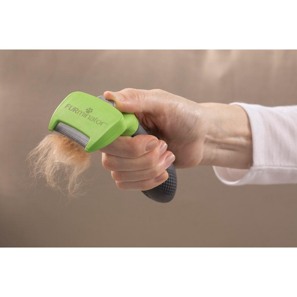 FURminator Fellbürste »S«, Metall, Langhaarpflege für kleine Hunde