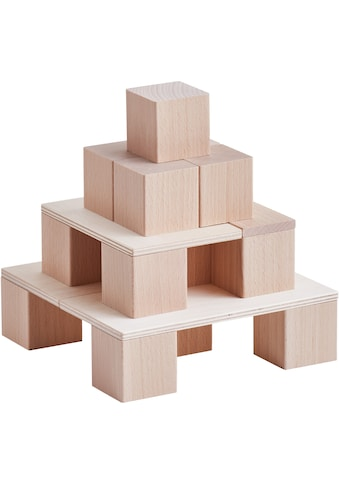 Haba Spielbausteine »Baustein-System Clever-Up! 1.0«, (46 St.), aus Holz; Made in Germany kaufen