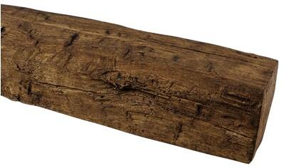 HOMESTAR Dekorpaneele 9 x 6 cm, Länge 2 m, Holzimitat, Eiche dunkelbraun kaufen