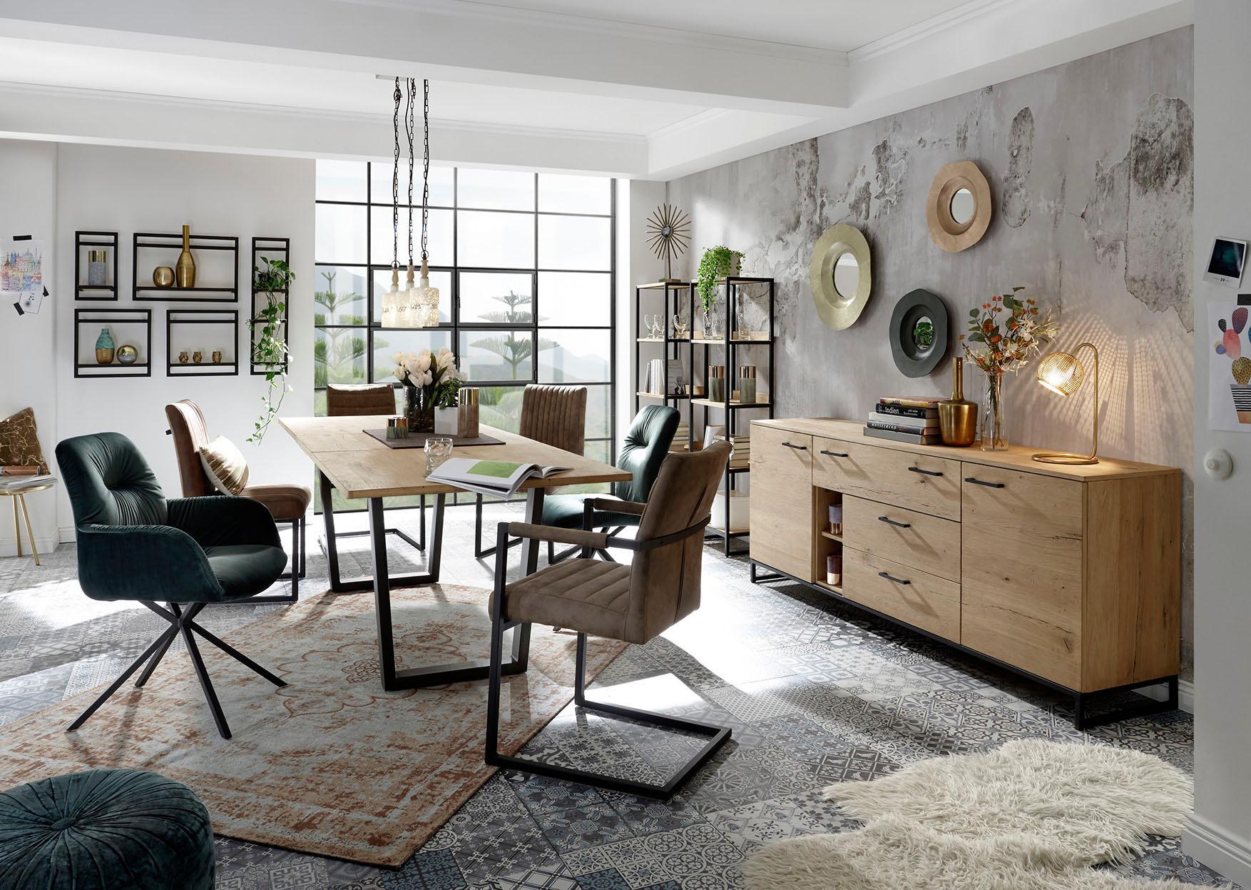 Quadrato Sideboard Niagara klassisches Wohndesign und modernes Ambiente vereint in einer Komposition