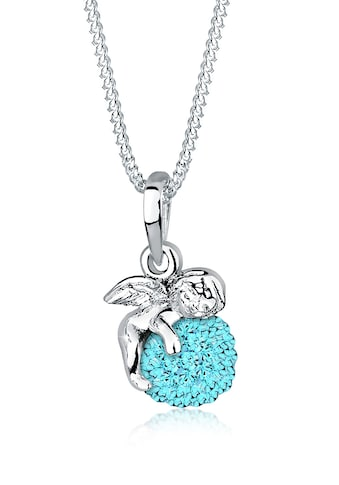 Elli Collierkettchen »Talisman Engel Swarovski® Kristalle 925 Silber« kaufen