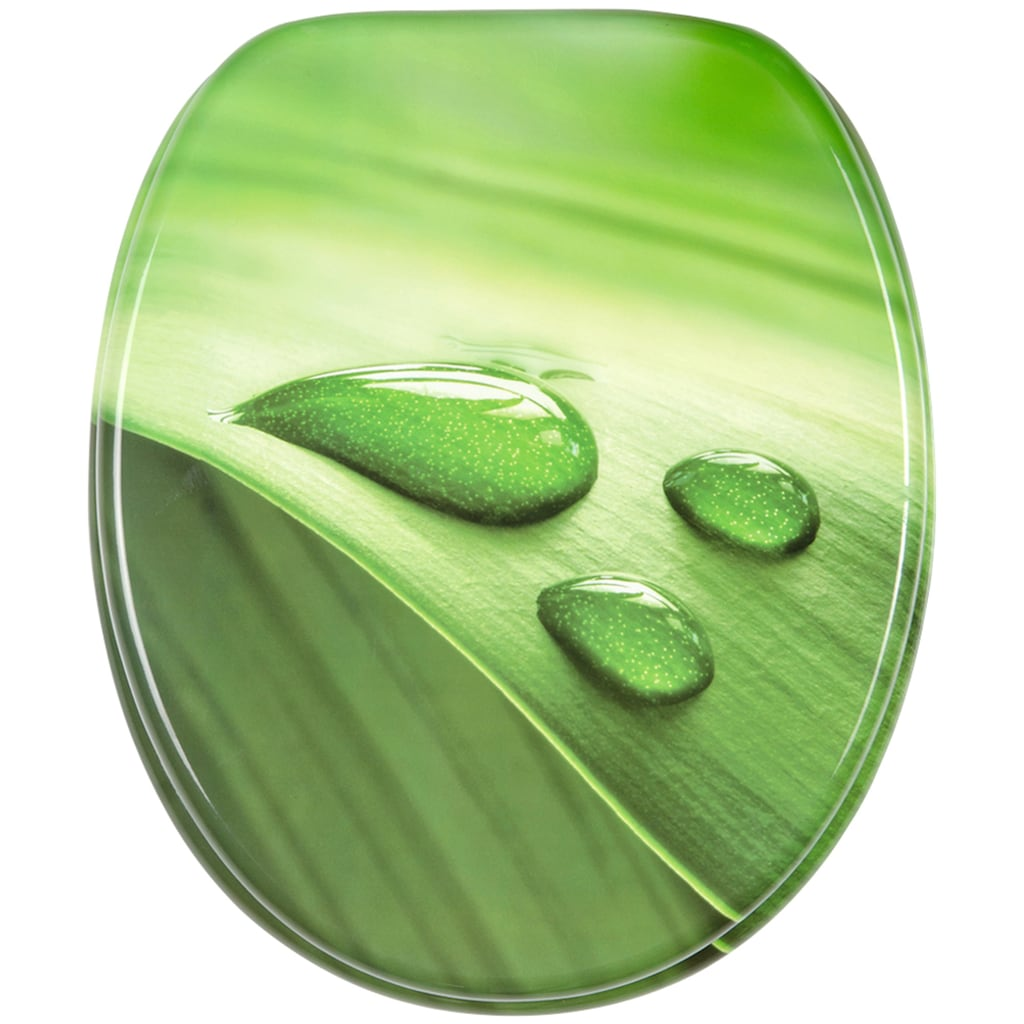 Sanilo WC-Sitz »Green Leaf«, mit Absenkautomatik