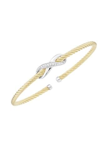 Smart Jewel Armspange »Infinity Symbol, Zirkonia Steine, Silber 925« kaufen