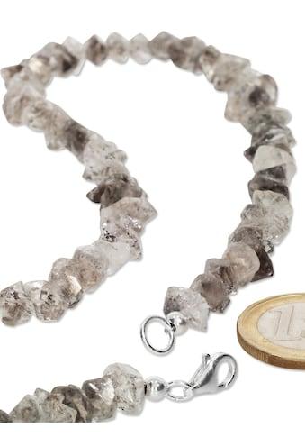 Adelia´s Kette ohne Anhänger »Bergkristall Halskette 925 Silber 43 cm« kaufen