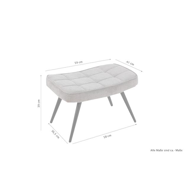 Homexperts Sitzhocker »Ulla« (1 Stück)