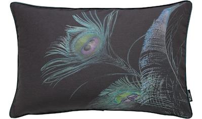 Kissenhülle, »Pfaufeder«, emotion textiles kaufen