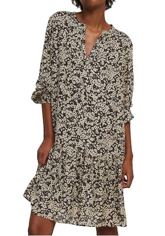 Marc O'Polo Blusenkleid, im Tunika-Look mit romantischem Volant-Saum kaufen