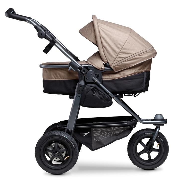 tfk Kombi-Kinderwagen mono braun Kinder Kombikinderwagen Kinderwagen Buggies