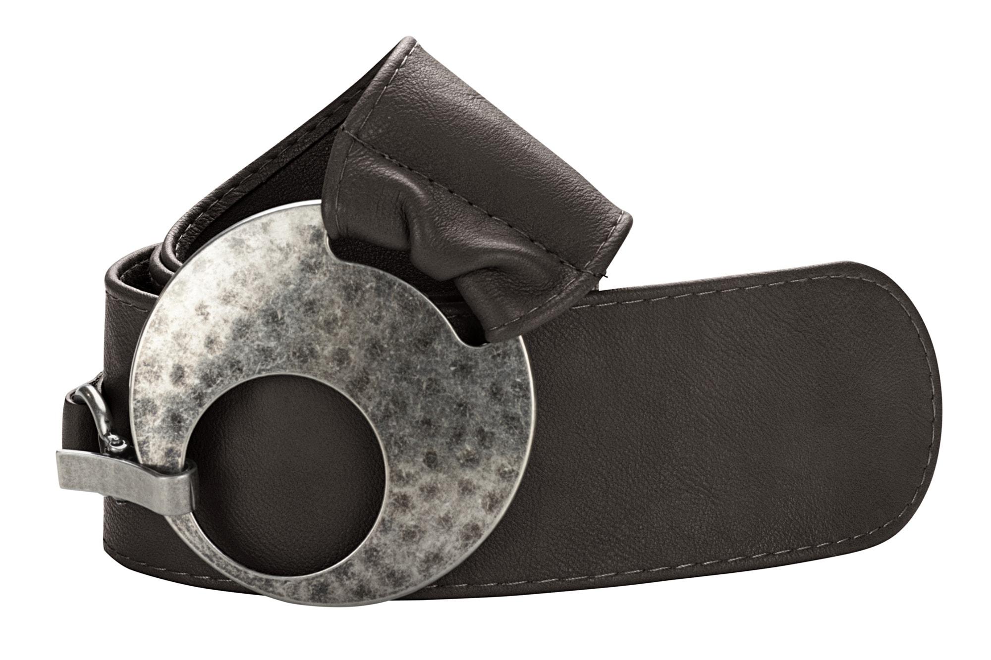 heine Synthetikgürtel, in breiter Form braun Damen Breite Gürtel Accessoires Synthetikgürtel