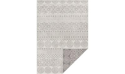 my home Teppich »Wallace«, rechteckig, 5 mm Höhe, Wendeteppich, In- und Outdoor geeignet, Wohnzimmer kaufen