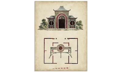 Artland Glasbild »Gartentore IV«, Architektonische Elemente, (1 St.) kaufen