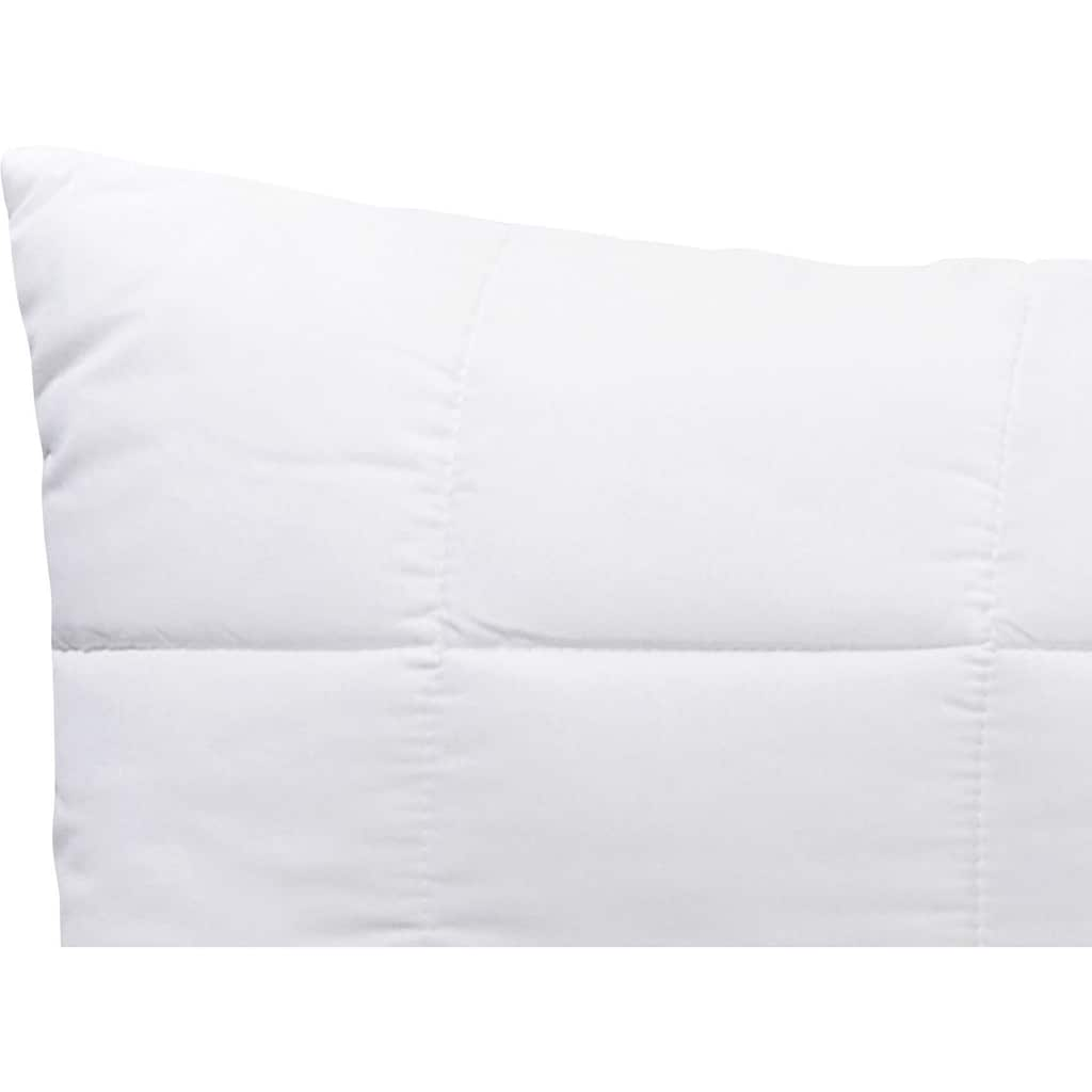 Schlafgut Kunstfaserkopfkissen »Pure Kissen«, (1 St.), Anschmiegsames Schlafgefühl dank leichter Super-Fill-Füllung