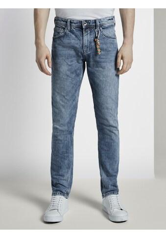 TOM TAILOR Denim 7/8 - Jeans »Aedan Straight Jeans mit Schlüsselanhänger« kaufen