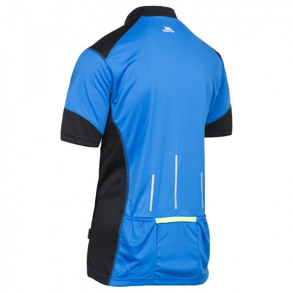 Trespass Sporttop »Herren Dudley Kurzarm Cycling Top«