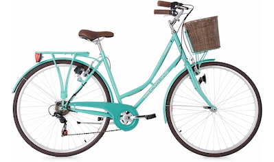 KS Cycling Cityrad »Stowage«, 6 Gang Shimano Tourney Schaltwerk, Kettenschaltung kaufen