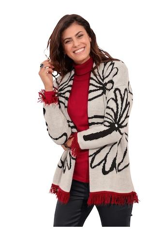 Amy Vermont Strickjacke, mit floralem Muster kaufen