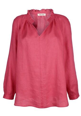 Alba Moda Bluse aus reinem Leinen kaufen