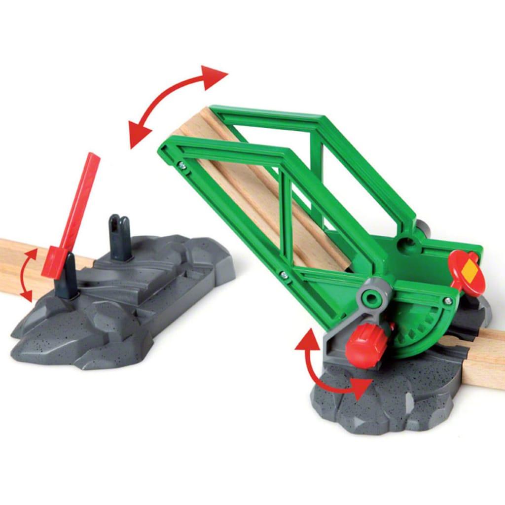 BRIO® Spielzeug-Eisenbahn »BRIO® WORLD Container Hafen Set«, FSC®-Holz aus gewissenhaft bewirtschafteten Wäldern