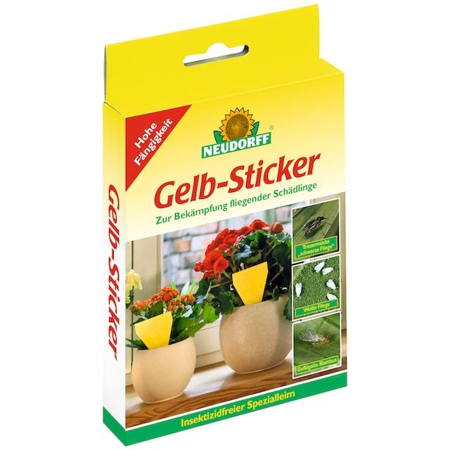 NEUDORFF Klebefalle »Gelb - Sticker«, 10 Stk.