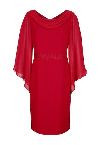 Alba Moda Kleid mit Chiffon - Ärmeln kaufen