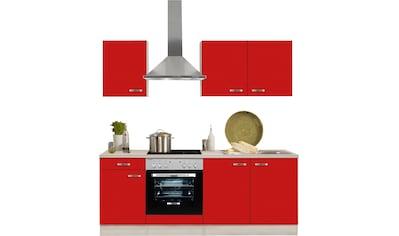 OPTIFIT Küchenzeile »Faro«, mit E-Geräten, Breite 210 cm kaufen