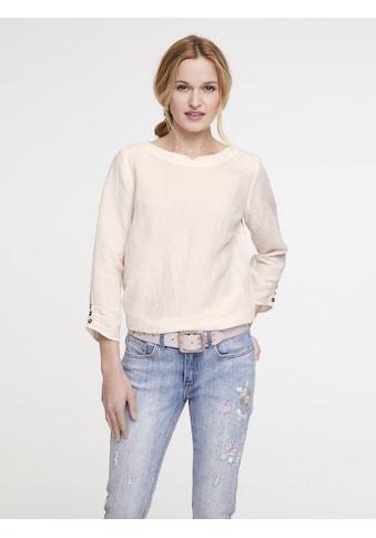 Bluse Baumwolle mit Leinen kaufen
