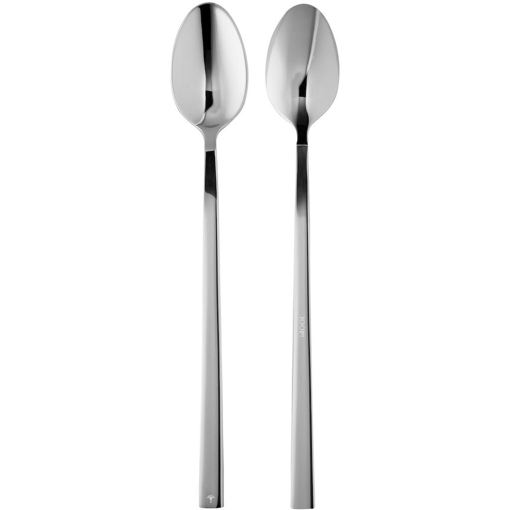 Joop! Latte-Macchiato-Löffel »JOOP! DINING GLAMOUR«, (Set, 4 tlg.), Edelstahl 18/10, glänzend