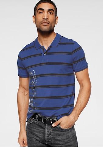 Rhode Island Poloshirt, mit Streifenmuster kaufen