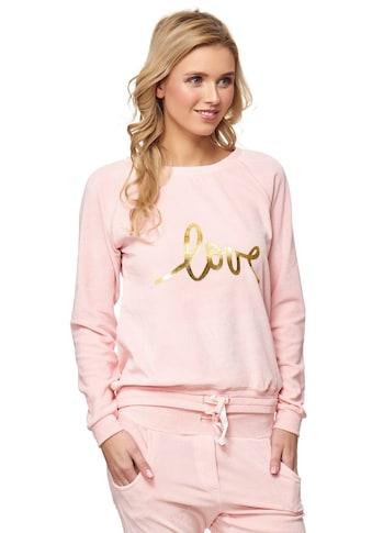 Decay Sweatshirt, mit goldenem LOVE-Aufdruck kaufen