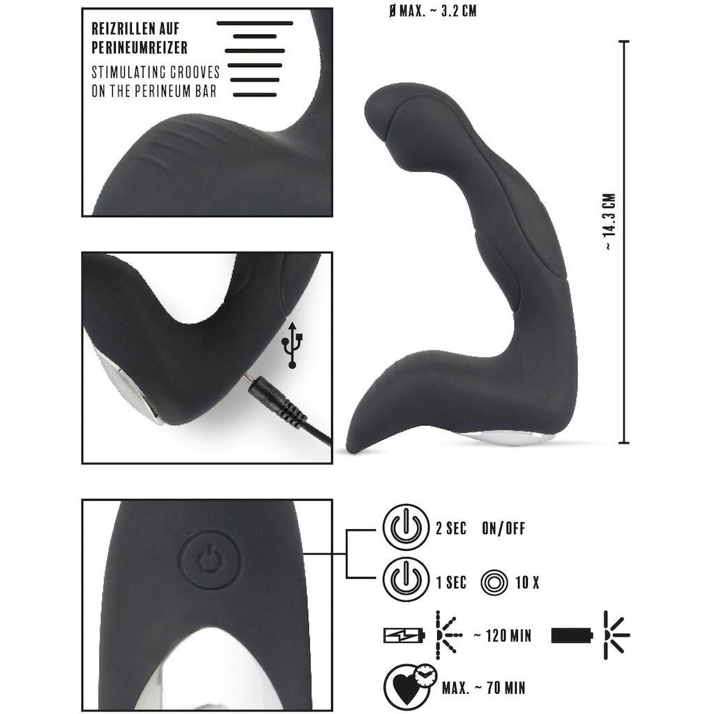 REBEL Anal-Stimulator