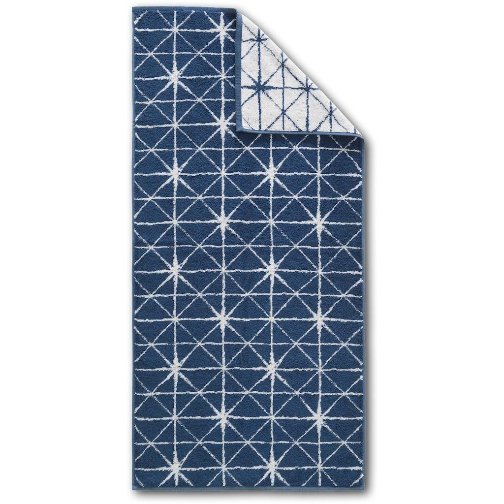 Dyckhoff Handtuch Set »Blue Island Diamond«, mit modernen Diamantmuster