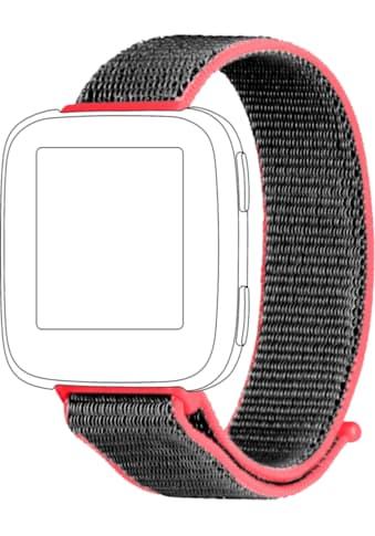 topp Accessoires Ersatz - /Wechselarmband »Nylon Loop für Fitbit Versa« kaufen