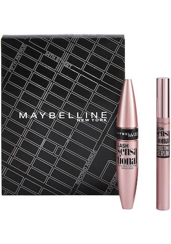 """MAYBELLINE NEW YORK Make - up Set """"Lash Sensational Mascara und Lash Sensational Wimpernserum"""", 2 - tlg. kaufen"""
