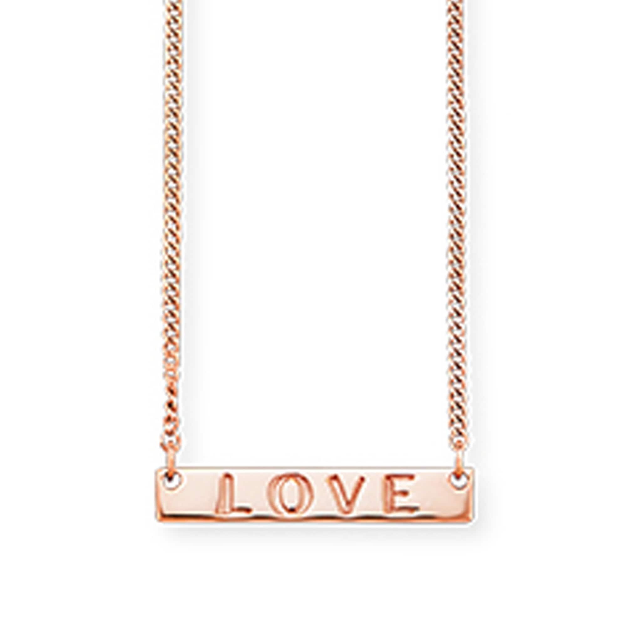CAÏ Collier 925/- Sterling Silber rotvergoldet | Schmuck > Halsketten > Colliers | Rot | Caï