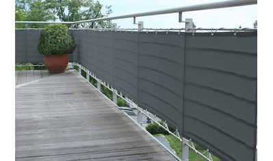 Floracord Balkonsichtschutz, BxH: 300x75 cm, anthrazit kaufen