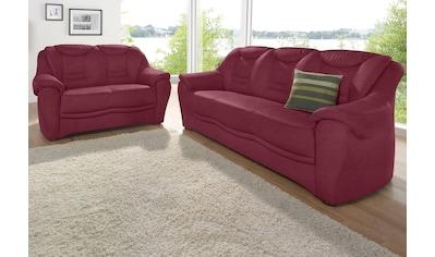 sit&more Polstergarnitur, bestehend aus einem 3- und einem 2- Sitzer, inklusive Federkern kaufen