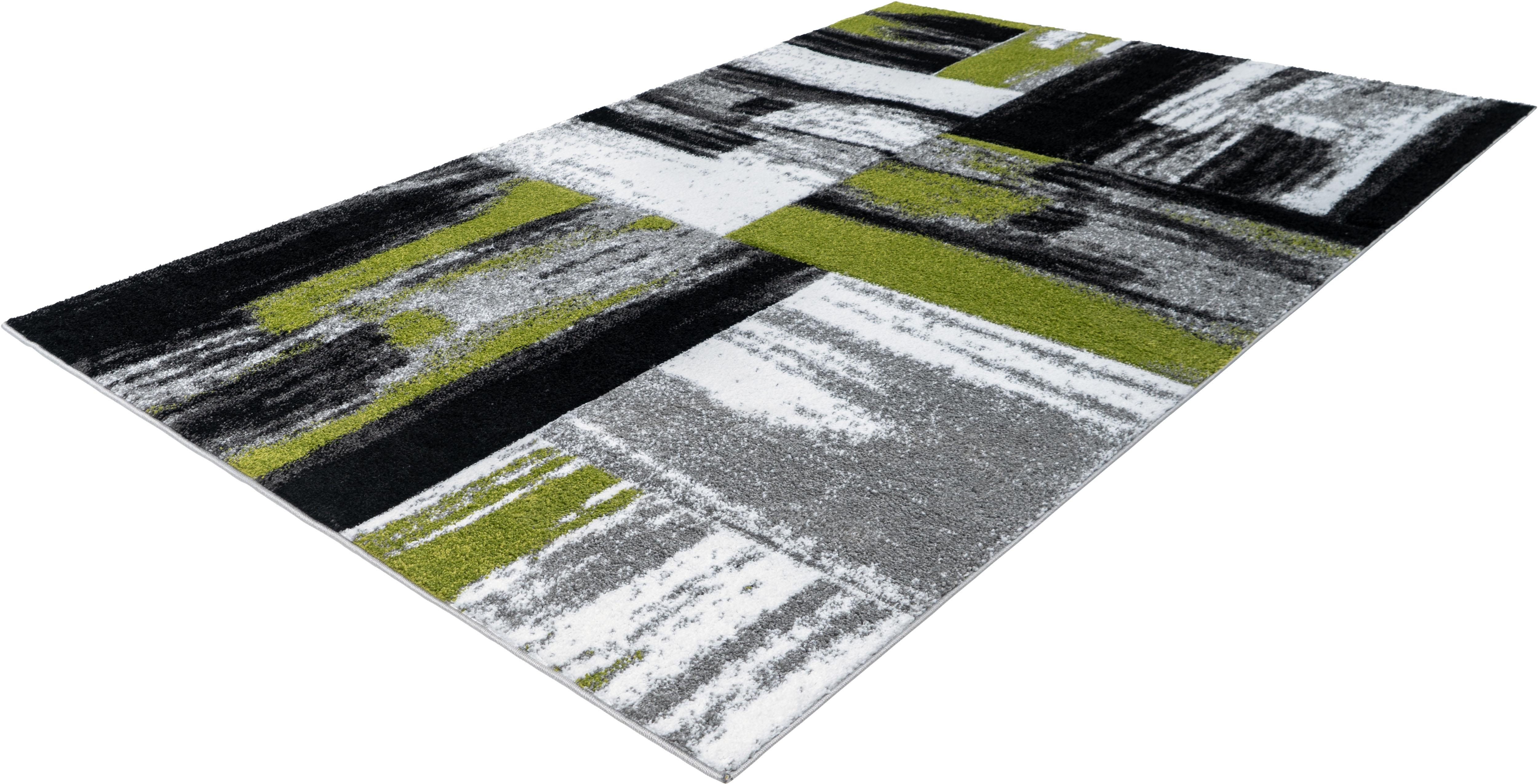 Teppich Swing 100 LALEE rechteckig Höhe 15 mm maschinell gewebt