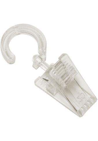 Gardinenhaken »Haken mit Klammer für Ø 28 mm«, GARDINIA kaufen