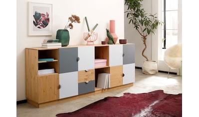 my home Kommode »Undine«, 4-türig, 106cm breit kaufen