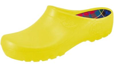 ALSA Clog »031 Alsa FASHION Jolly Clogs Gelb«, Alsa FASHION Jolly Clogs Gelb kaufen
