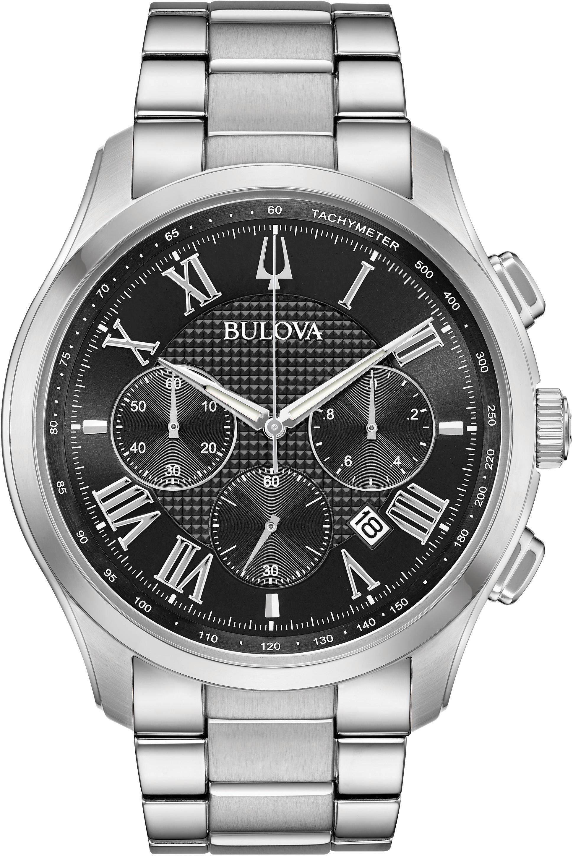 Bulova Chronograph Wilton 96B288 | Uhren > Chronographen | Schwarz | Bulova